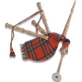 View larger image of Duplex Scotish Style Kids Bagpipes
