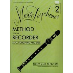 Duschenes Method for Recorder 2 - Alto & Bass Recorder