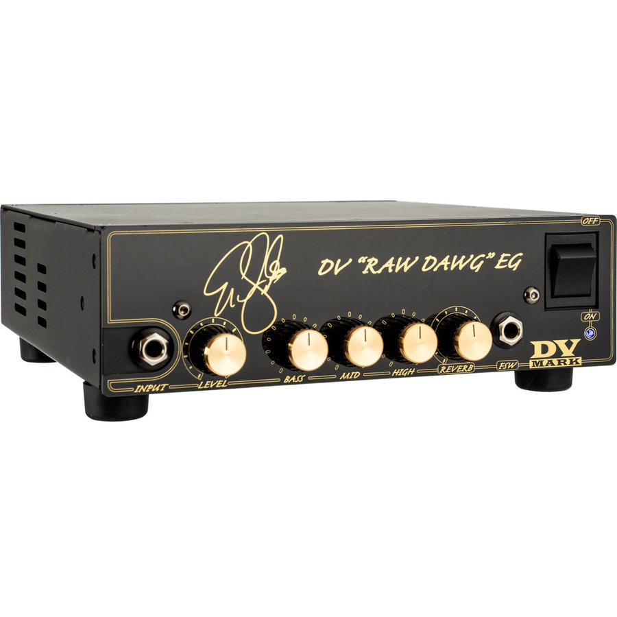 View larger image of DV Mark Raw Dawg EG Eric Gales Signature Guitar Amp Head