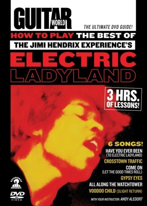 View larger image of Guitar World: How to Play the Best of the Jimi Hendrix Experience's Electric Ladyland DVD