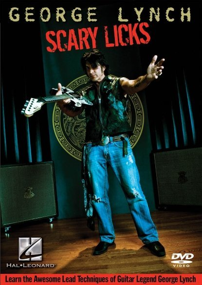 View larger image of George Lynch – Scary Licks DVD