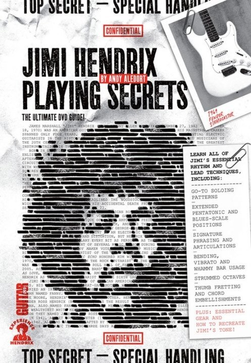 View larger image of Guitar World: Jimi Hendrix Playing Secrets DVD