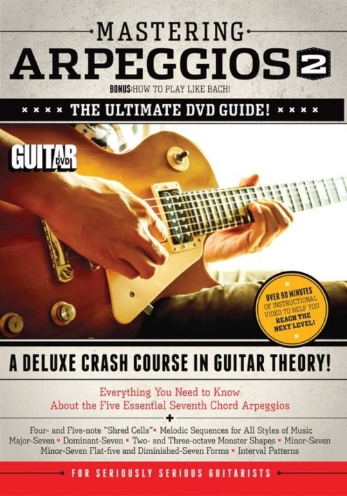 View larger image of Guitar World: Mastering Arpeggios 2 DVD