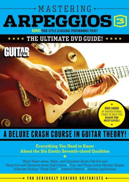 View larger image of Guitar World: Mastering Arpeggios 3 DVD