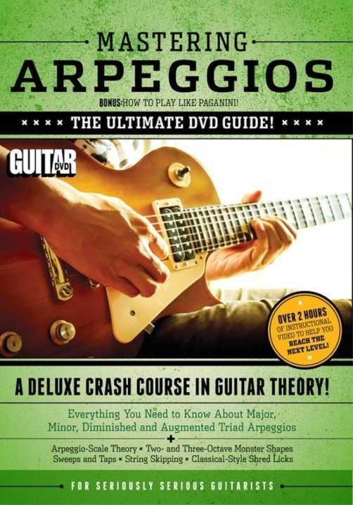View larger image of Guitar World: Mastering Arpeggios DVD