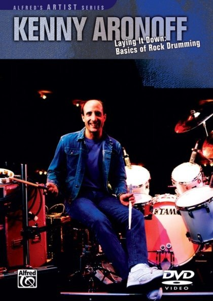 View larger image of Kenny Aronoff: Laying It Down DVD