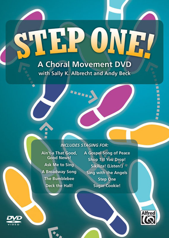 View larger image of Step One! A Choral Movement DVD