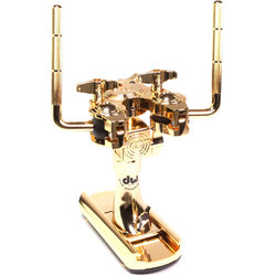 DW 9900BD Bass Drum Double Tom Mount - Gold