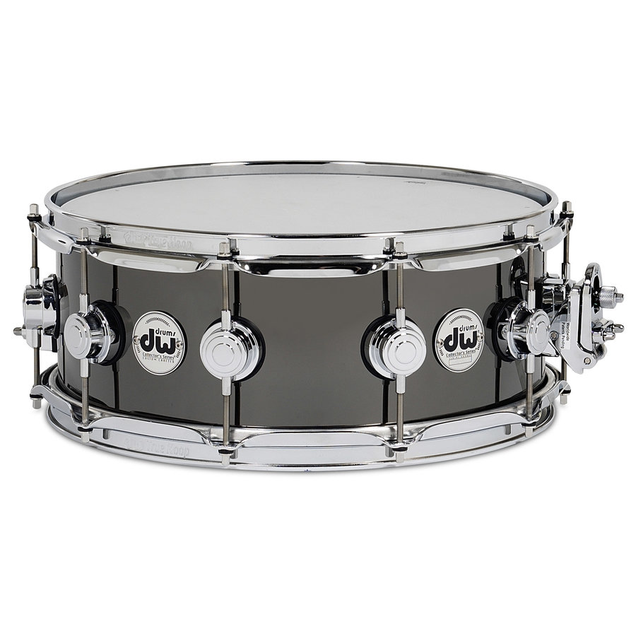 View larger image of DW Black Nickel Over Brass Snare Drum - 5.5x14