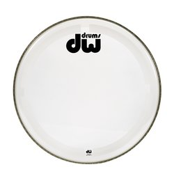 DW Clear Coated Bass Drum Head - 24