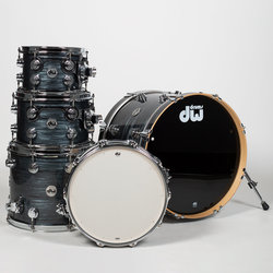 DW Collector's Series 5-Piece Shell Pack - 20/14SD/14FT/12/10, Grey Oyster