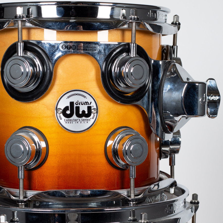 View larger image of DW Collector's Series 5-Piece Shell Pack - 22/16FT/12/10/8, Burnt Toast Fade Lacquer