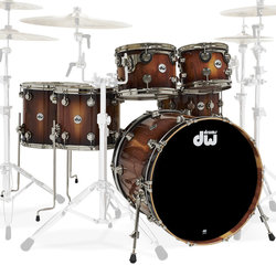 DW Collector's Series Limited Edition Pure Almond 6-Piece Shell Pack