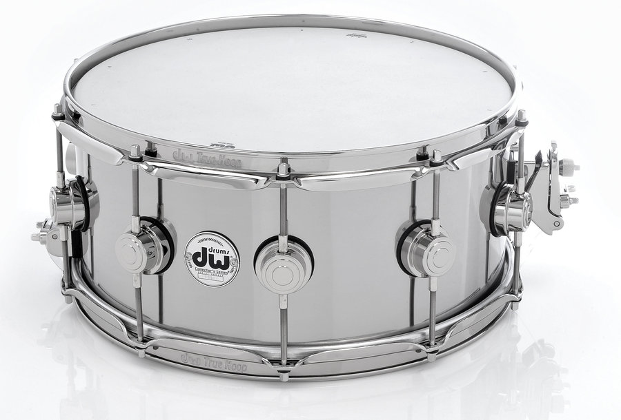 View larger image of DW Collectors Series Snare Drum - Thin Aluminum, 6.5x14