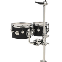 DW Design Series Comcert Tom Set - Black Satin