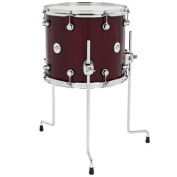 DW Design Series Floor Tom - 12 x 14, Cherry Stain