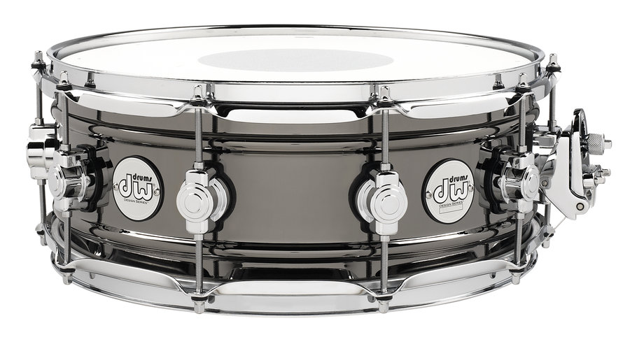 View larger image of DW Design Series Snare Drum - Black Nickel over Brass, 5.5x14