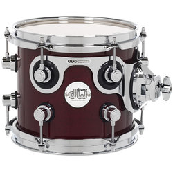 DW Design Series Tom Tom - 7 x 8, Cherry Stain