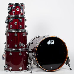 DW Drums Collector's 5-Piece Shell Pack - 22/14SD/16FT/12/10, Cherry Stain