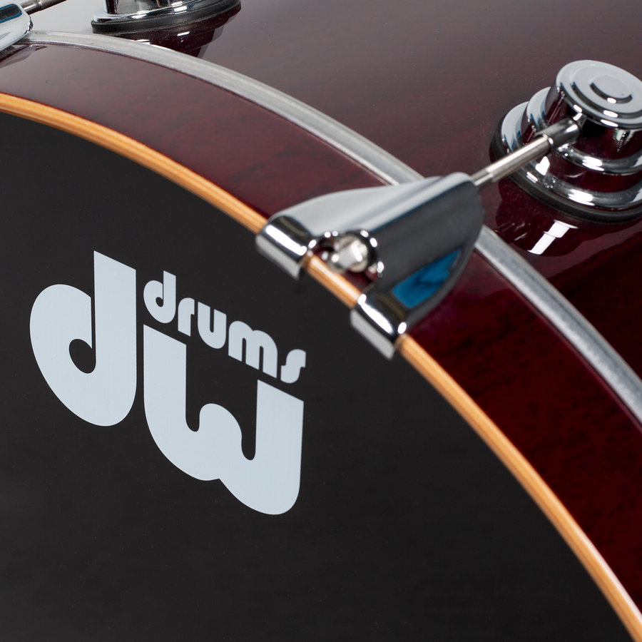 View larger image of DW Drums Collector's 5-Piece Shell Pack - 22/14SD/16FT/12/10, Cherry Stain