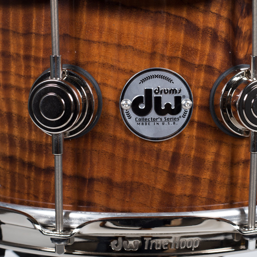 """View larger image of DW Limited Exotic German Walnut Snare Drum - 6-1/2"""" x 14"""""""