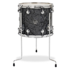 DW Performance Series Floor Tom - 12x14, Black Diamond