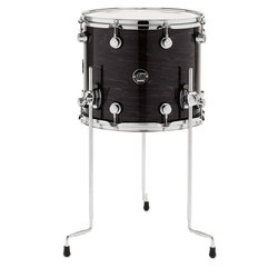 DW Performance Series Floor Tom - 12x14, Ebony Stain