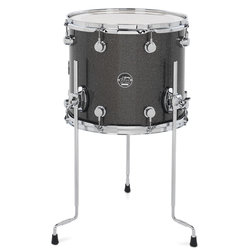 DW Performance Series Floor Tom - 12x14, Pewter Sparkle