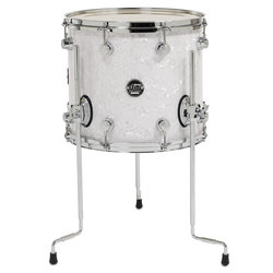 DW Performance Series Floor Tom - 12x14, White Marine
