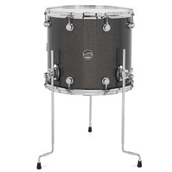 DW Performance Series Floor Tom - 14x16, Pewter Sparkle