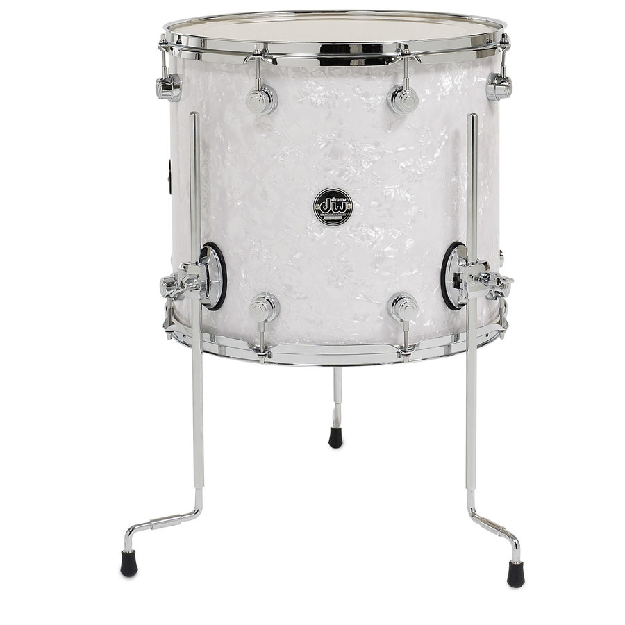 """View larger image of DW Performance Series Floor Tom - 16""""x14"""", White Marine"""