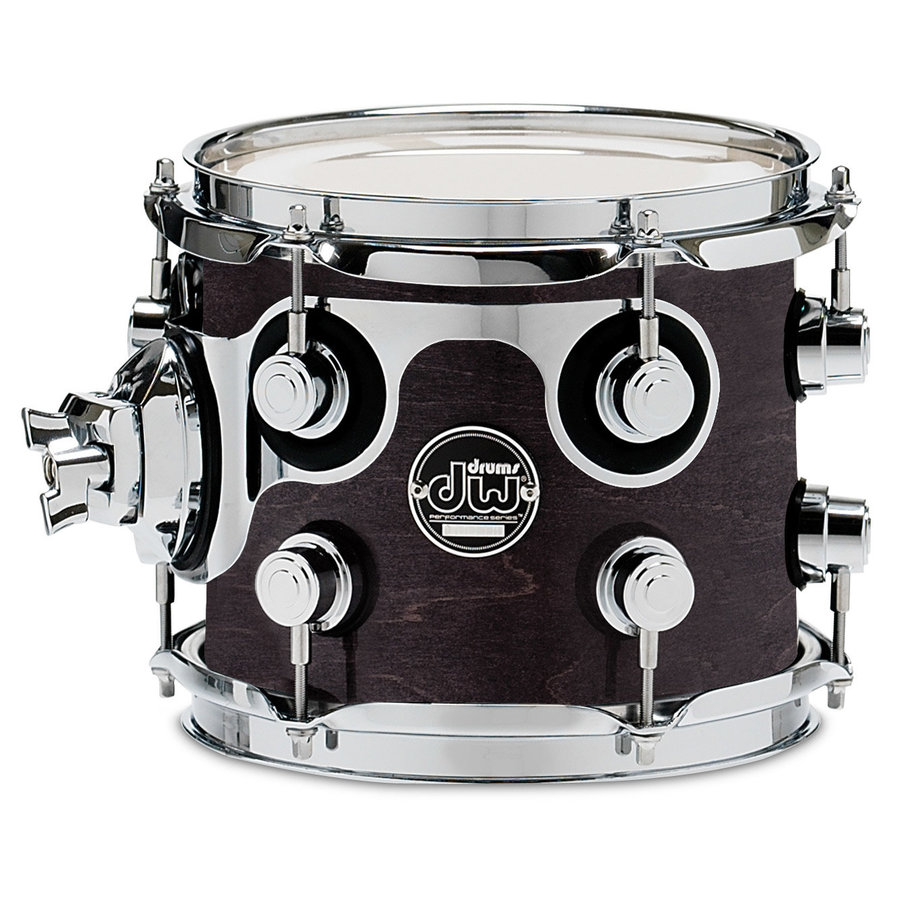 View larger image of DW Performance Series Rack Tom - 7x8, Ebony Stain