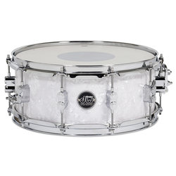 DW Performance Series Snare Drum - 5.5x14 - White Marine