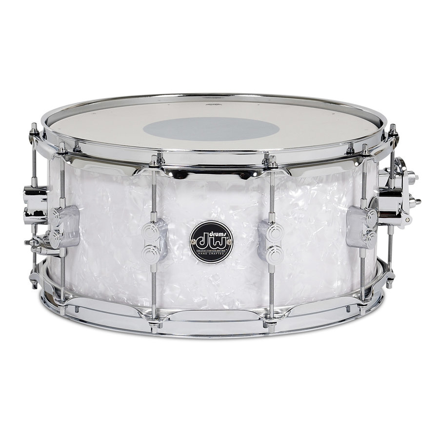 View larger image of DW Performance Series Snare Drum - 6.5x14 - White Marine
