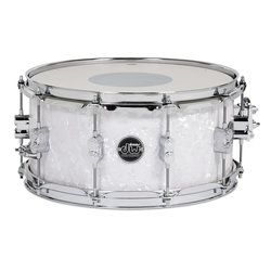 DW Performance Series Snare Drum - 6.5x14 - White Marine