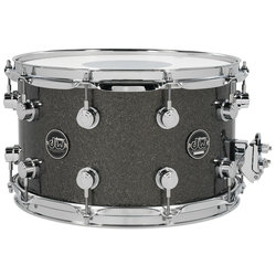 DW Performance Series Snare Drum - 8x14 - Pewter Sparkle