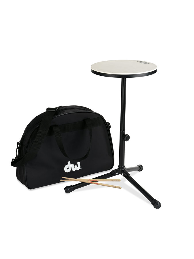 View larger image of DW Practice Drum Pad with Stand, Sticks, Bag