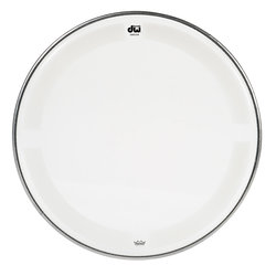 DW Single Ply Coated Clear Tom Head - 10