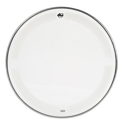 DW Single Ply Coated Clear Tom Head - 12