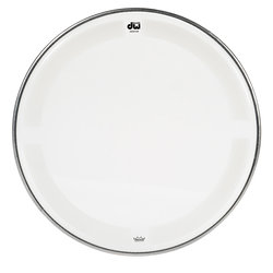 DW Single Ply Coated Clear Tom Head - 13