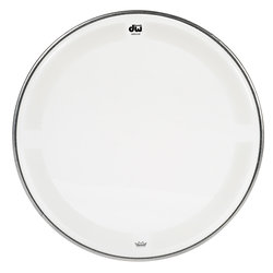 DW Single Ply Coated Clear Tom Head - 14
