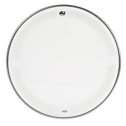 DW Single Ply Coated Clear Tom Head - 15