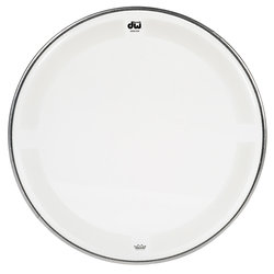 DW Single Ply Coated Clear Tom Head - 16