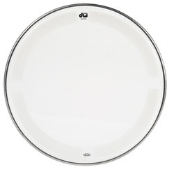 DW Single Ply Coated Clear Tom Head - 18