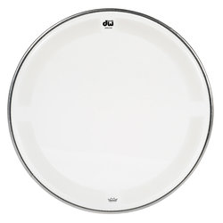 DW Single Ply Coated Clear Tom Head - 8