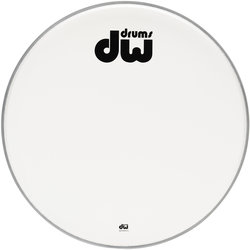 DW Texture Coated Bass Drumhead - 22, Non Vented