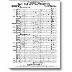 Each Time You Tell Their Story - Score & Parts, Grade 3