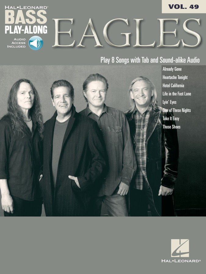 View larger image of Eagles - Bass Play-Along Volume 49 w/Online Audio