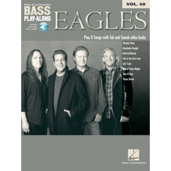Eagles - Bass Play-Along Volume 49 w/Online Audio