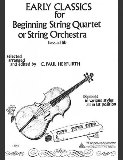 View larger image of Early Classics for Beginning String Quartet or Orchestra